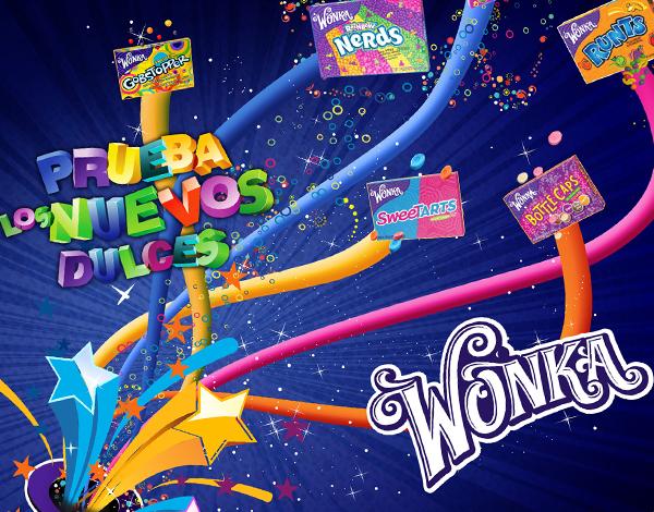 Diseño stiker Wonka