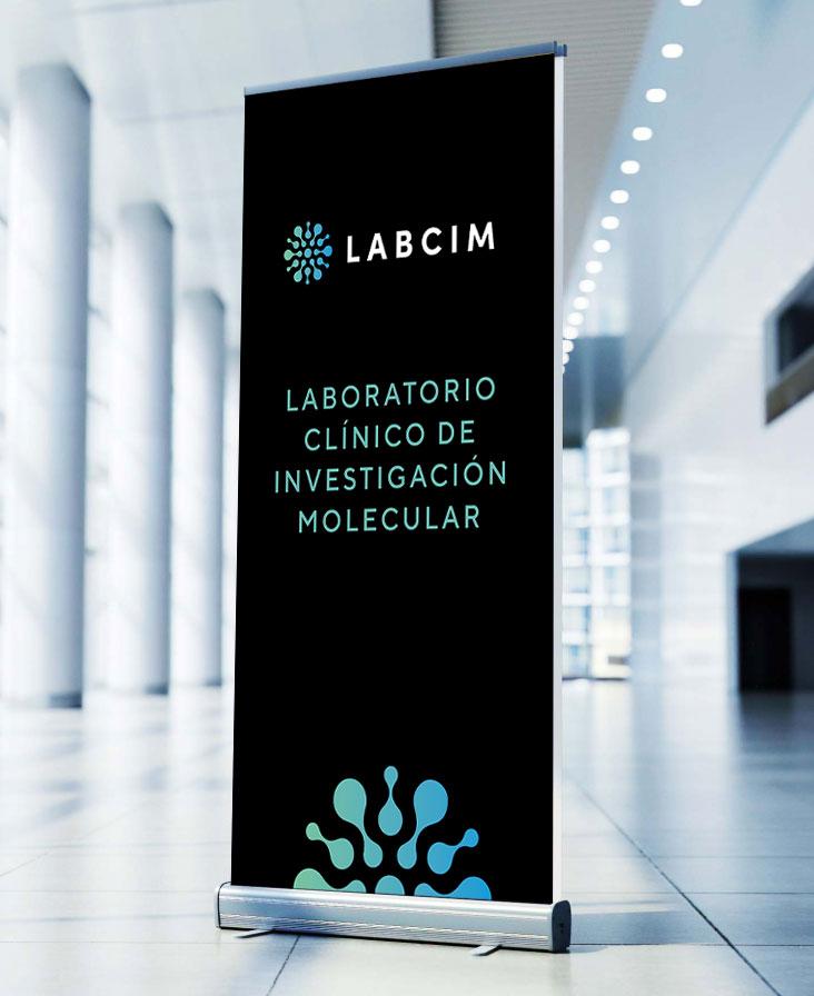 diseño de identidad para Labcim