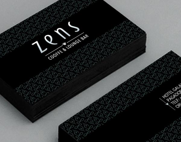 diseño logotipo zens lounge bar